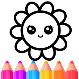 Kids Coloring Games For 2+