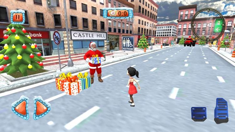 Christmas Santa City Driving screenshot-4
