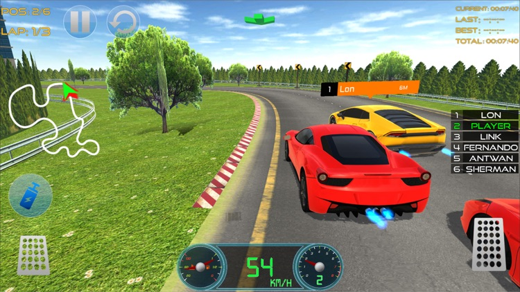 Race Track Car Racing Fever by Sara Khurram