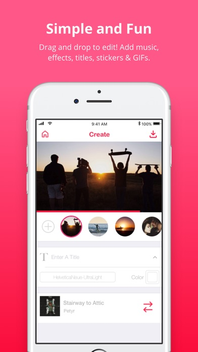 Lomotif - Music Video Editor app image