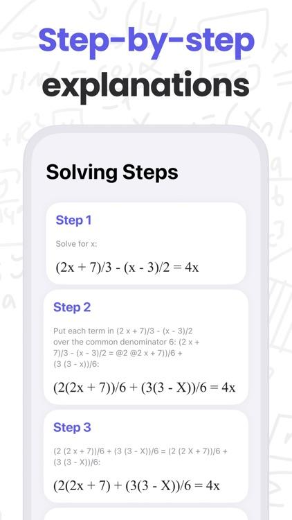 MathMaster: Camera Calculator screenshot-3