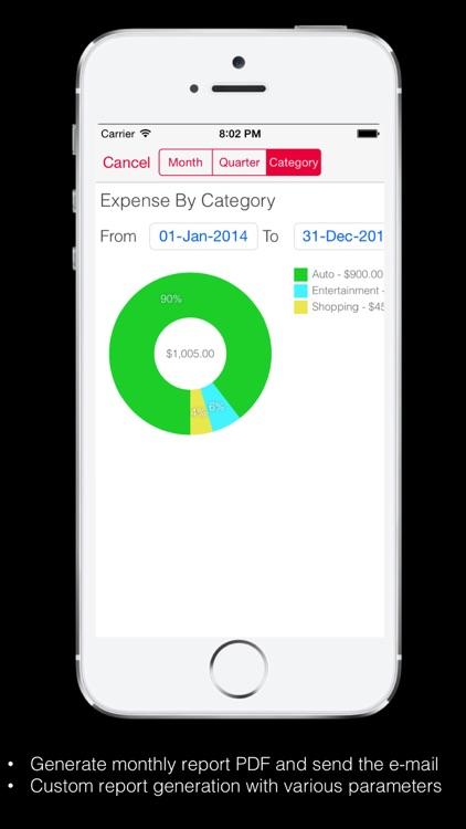 Home Budget Expense Account screenshot-3