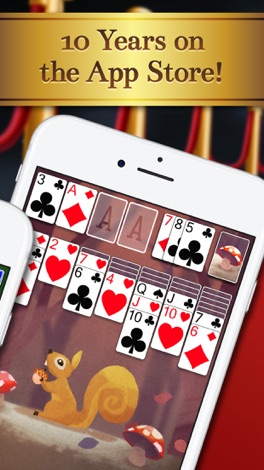 Solitaire screenshot for iPhone