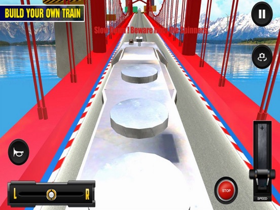 Driving Train On Impossible Tr screenshot 6