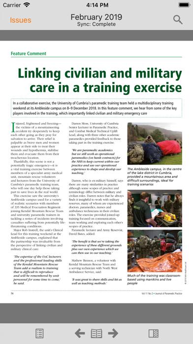 Journal of Paramedic Practice screenshot 4