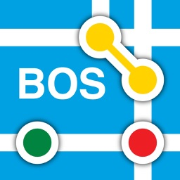 Boston Subway Map - The T