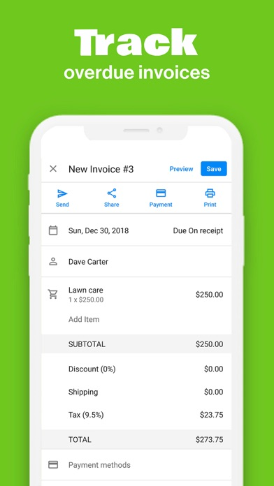 Invoice Maker Screenshot