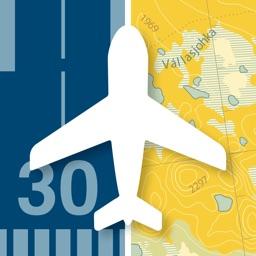 Svenska Flygfält & TMA-kartan