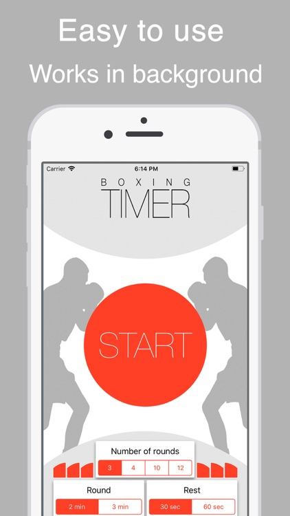 Boxing round timer ®