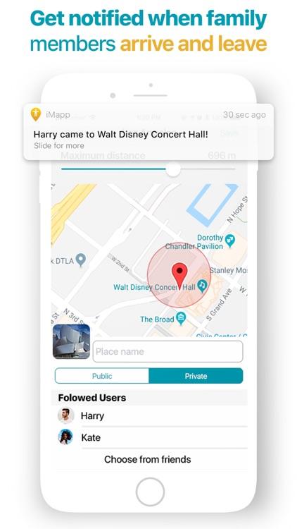 iMapp - Find my Phone, Friends screenshot-3