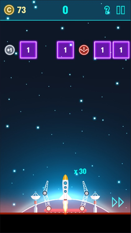 NeonSpace: Brick Breaker Plane screenshot-4