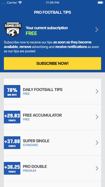 PRO Football Tips by Gamblers