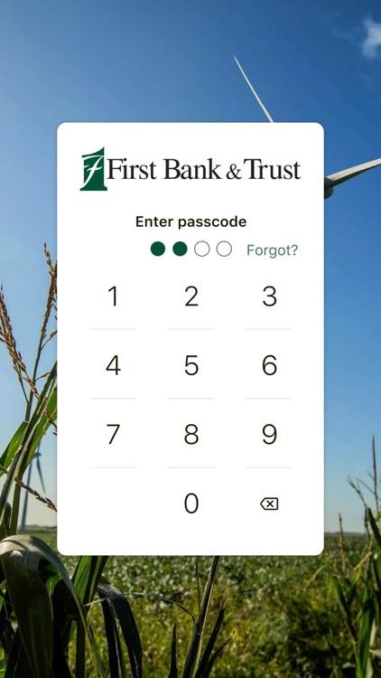 First Bank & Trust - BANKeasy screenshot-6