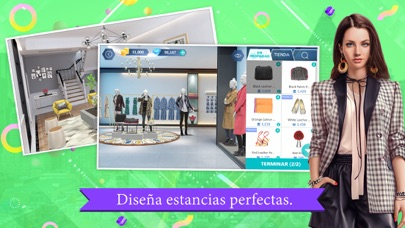 Screenshot for Design My Room: Fashion in Spain App Store