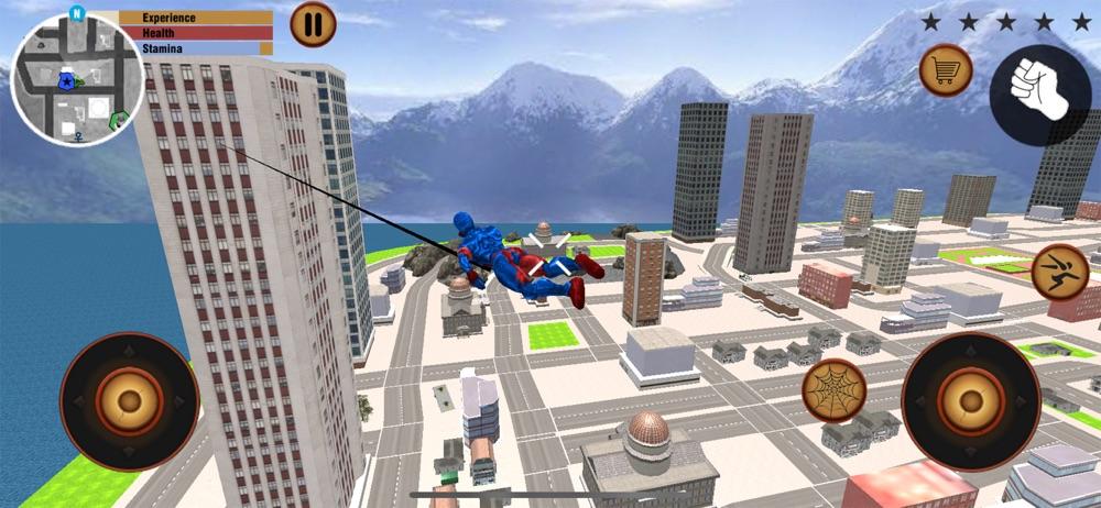 Flying Spider Stickman hero hack tool