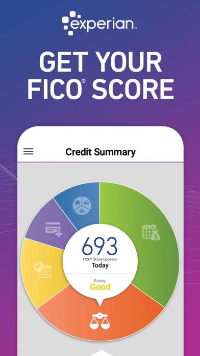 Experian Credit Report Screenshot