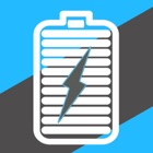 Amperes - battery charge info icon