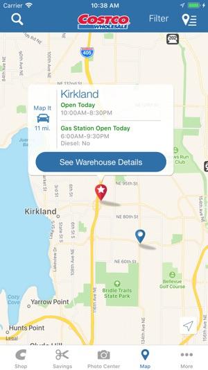 Costco Locations Wisconsin Map.Costco On The App Store