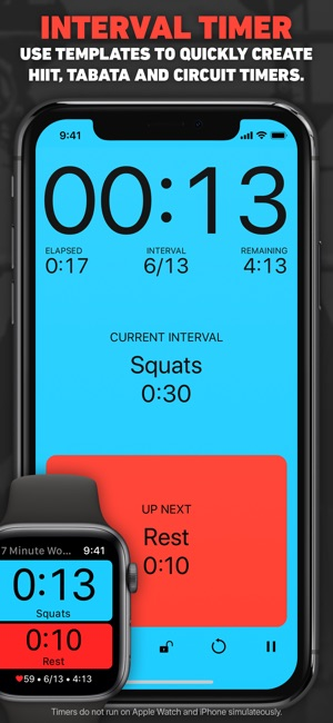 seconds interval timer hiit on the app storeSeconds Timer For Interval Training Circuit Training Hiit Tabata #8