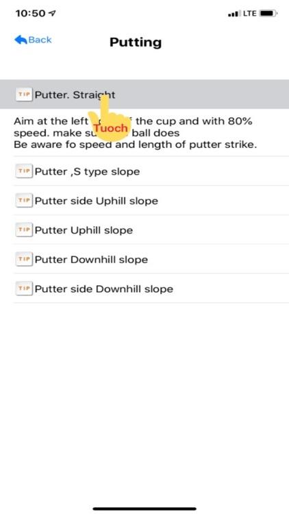 BigDataGolf59:Golf strategy screenshot-6