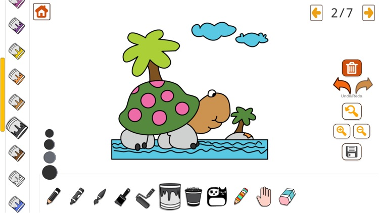 Coloring Book & Learning Color screenshot-6