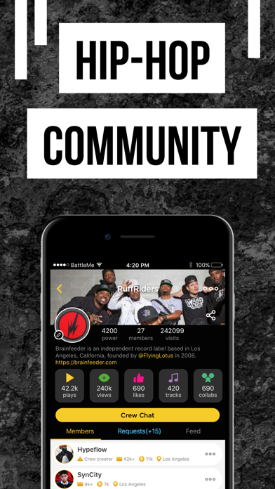 Rap Fame - Rap Music Studio Screenshot