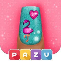 Girls Nail Salon - Kids Games.