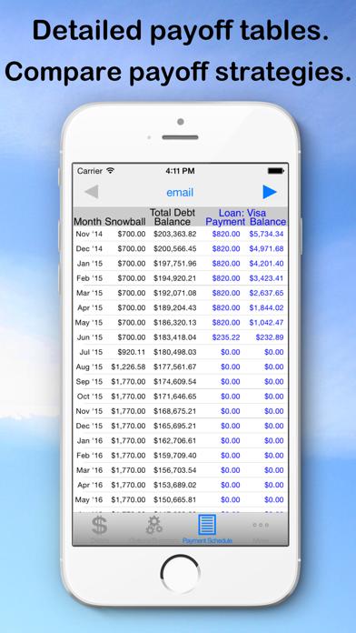 Debt Snowball Pro - Pay Debt screenshot four