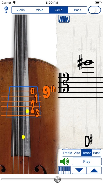 Fingering Strings for iPhone screenshot-3