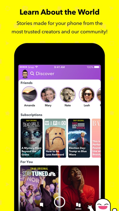 Screenshot for Snapchat in South Africa App Store