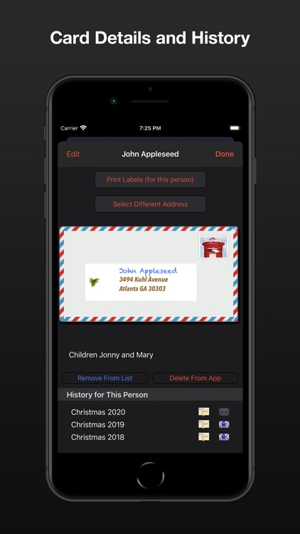 Address Labels for CardLists screenshot-5