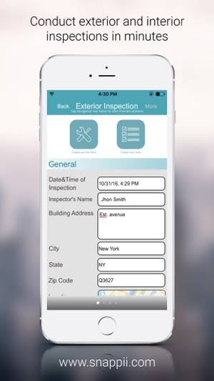 Building Inspection App on the App Store