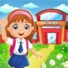 学校娃娃屋装饰
