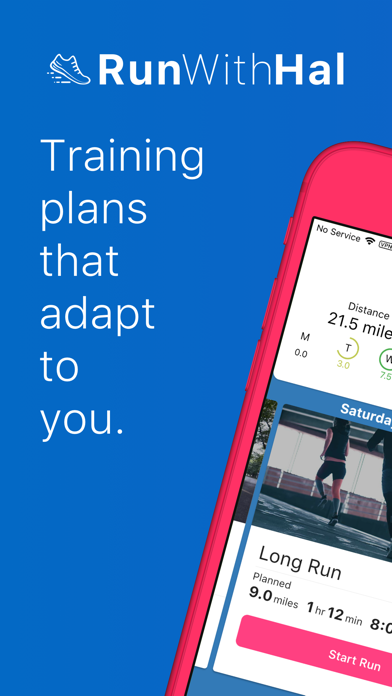 Run With Hal - Training Plans ScreenShot0