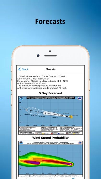Tropical Hurricane Tracker