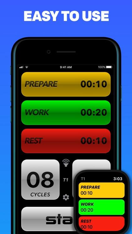 Tabata Pro - Tabata Timer screenshot-3