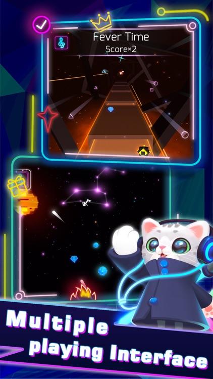 Sonic Cat-Slash the Beats screenshot-4