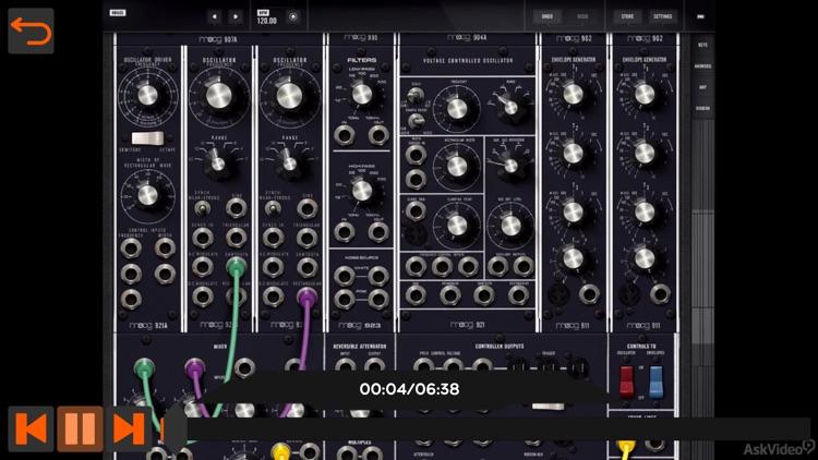 Video Guide For Moog Model 15 screenshot-3