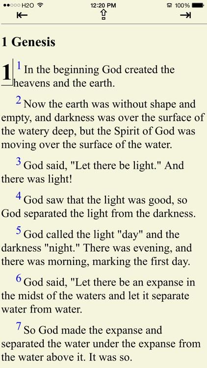 Bible (New English Translation screenshot-0