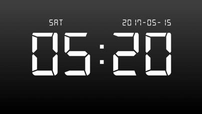デジタル時計 - LED 目覚まし時計のおすすめ画像3