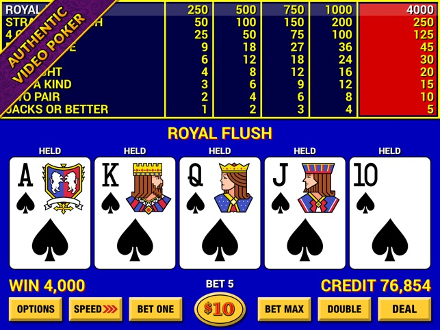 Video Poker Lounge On The App Store