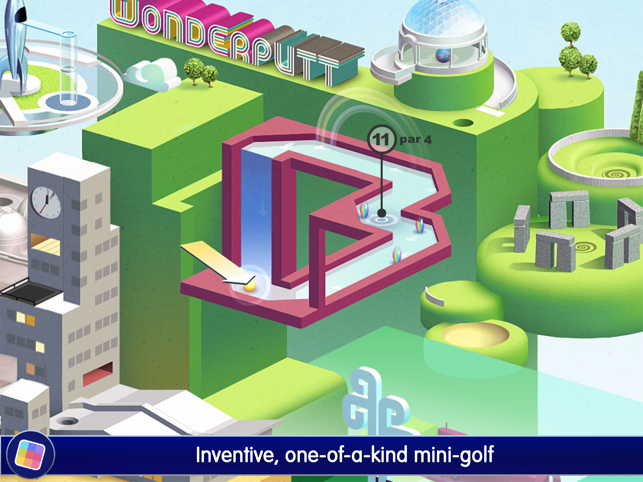 ‎Wonderputt - GameClub Screenshot