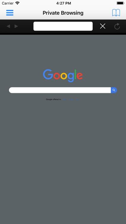 Incognito Private Web Browser screenshot-4