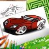 Cars Coloring Book Set