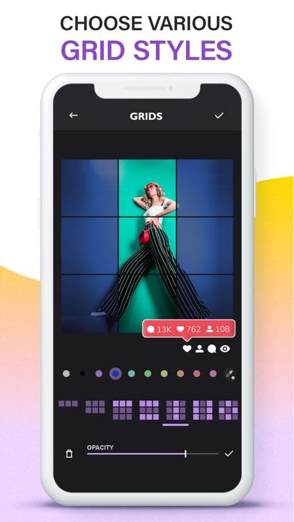 Grids: Giant Square, Templates screenshot-5