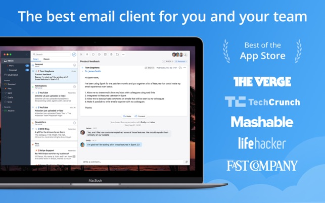 Spark - Email App by Readdle on the Mac App Store