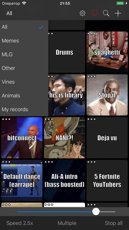 Meme Soundboard 2016-2019