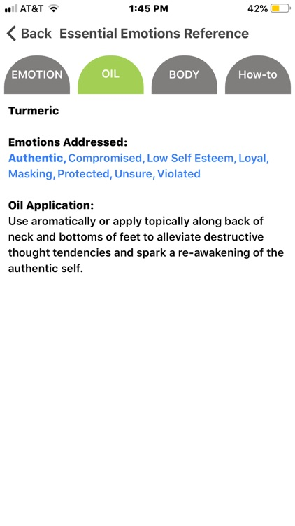 Essential Emotions Reference screenshot-3