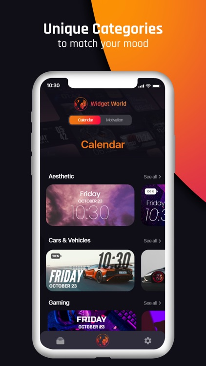 Widget World : Stylish Widgets
