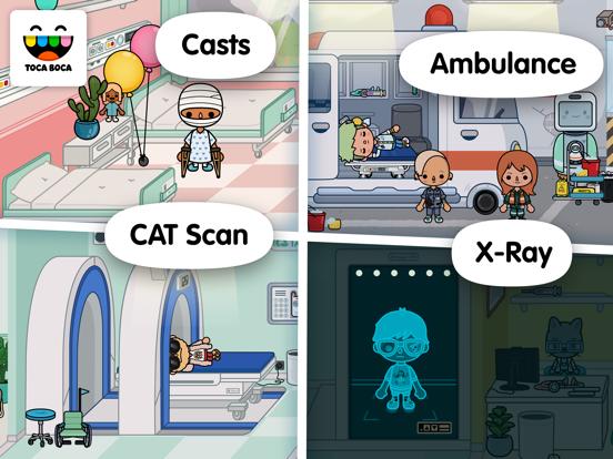 Toca Life: Hospital Screenshots